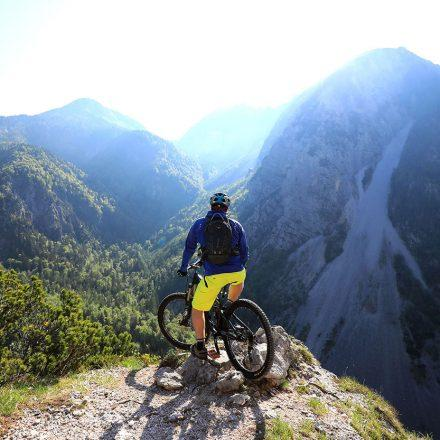 mountain bike tour in slovenia - triglav national park